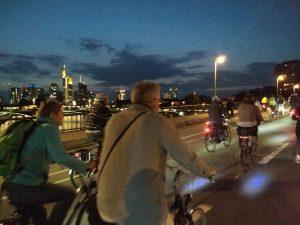 Durch die Frankfurter Nacht