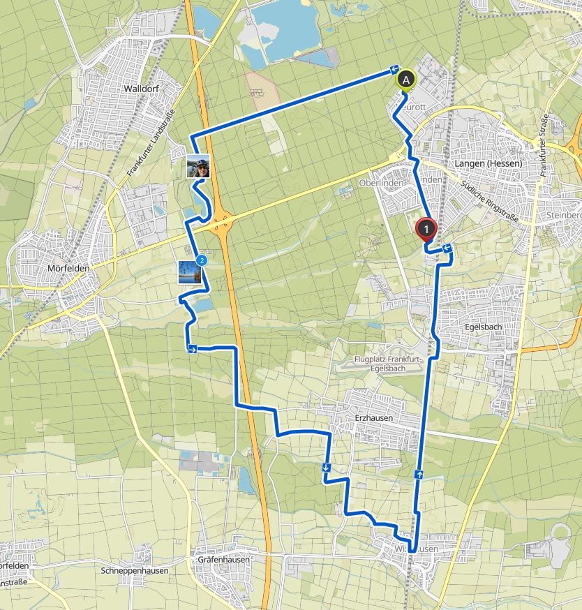 Track MTB-Tour Südwest
