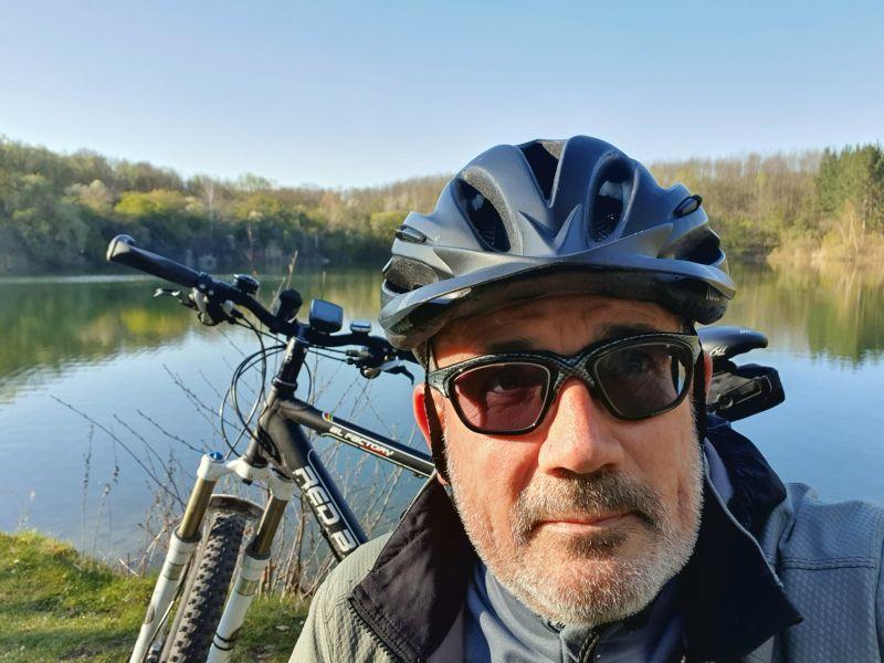 Selfie am Oberwaldsee